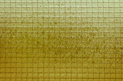 Light yellowish-brown glass vintage background, textured Royalty Free Stock Photography