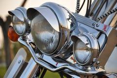 lightbar摩托车 免版税库存照片