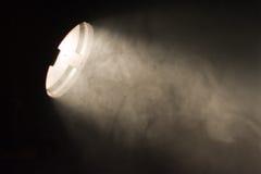 Lightbeam dans la poussière Images stock