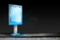 Lightbox盘区 免版税库存照片
