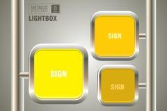 Lightbox template Stock Photo