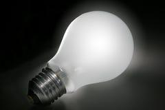 lightbulb μονοπάτι Στοκ εικόνες με δικαίωμα ελεύθερης χρήσης