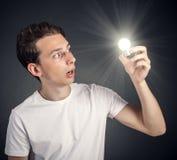 Lightbulb Arkivfoton