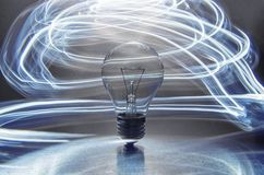 Lightbulb Στοκ εικόνες με δικαίωμα ελεύθερης χρήσης