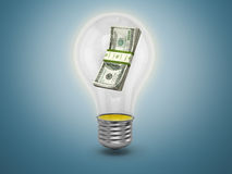 Lightbulb with Royalty Free Stock Image