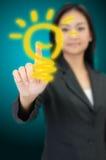 Lightbulb concept Stock Photography