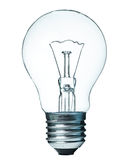Lightbulb die op wit wordt geïsoleerds Royalty-vrije Stock Foto