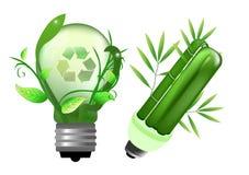 lightbulb energetyczny oszczędzanie Fotografia Royalty Free