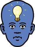 Lightbulb Face Stock Photos