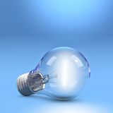 LightBulb on floor Stock Photography