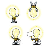 Lightbulb Guy Stock Image