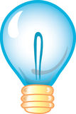 Lightbulb icon Stock Photo