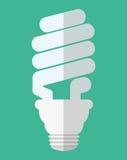 Lightbulb icon image. Energy saving lightbulb icon image  illustration design Stock Images