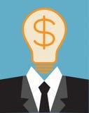 Lightbulb idea concept Stock Images