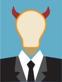 Lightbulb idea concept Stock Photos