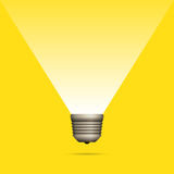 Lightbulb Idea Copyspace Royalty Free Stock Photo