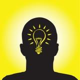 Lightbulb idea Royalty Free Stock Photos