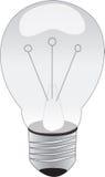 Lightbulb illustration Stock Images