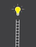 Lightbulb Ladder Stock Photos