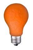 Lightbulb orange Royalty Free Stock Photo