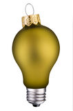 Lightbulb ornament Royalty Free Stock Photo
