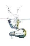 lightbulb woda Zdjęcie Royalty Free