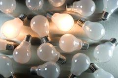 lightbulbs σειρά Στοκ εικόνα με δικαίωμα ελεύθερης χρήσης