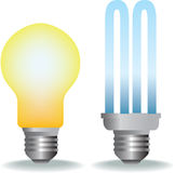 Lightbulbs Royalty Free Stock Photography
