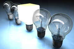 Lightbulbs. Stock Images