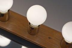Lightbulbs Bathroom Stock Image
