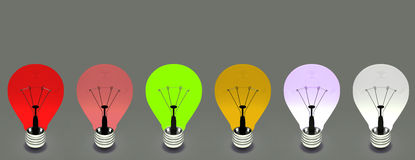 Lightbulbs Royalty Free Stock Image