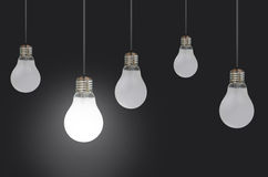 Lightbulbs Stock Images
