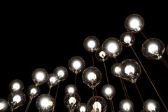 Lightbulbs and Lamps Creativity Stock Photo