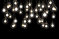 Lightbulbs and Lamps power light idea Stock Photography