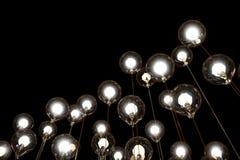 Lightbulbs- och lampkreativitet Arkivfoto