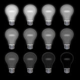 Lightbulbs Royalty Free Stock Photos