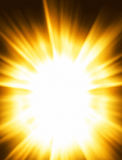 Lightburst Royalty Free Stock Photography