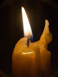 Lighted candle Stock Image
