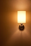 Lighted classic sconce Royalty Free Stock Photography