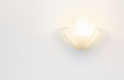 Lighted classic sconce Stock Photos