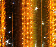 Lighted Fabric Textures Stock Photography