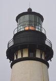 Lighted Fresnel on Yaquina Head Lighthouse Royalty Free Stock Photos