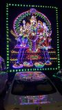 Lighted Hindu god& x27;s of Lord Shiva Parvathi and Children Royalty Free Stock Photography
