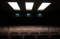 Lighted seats Stock Image