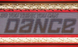 Lighted Sign So You Think You Can Dance Royalty Free Stock Photos
