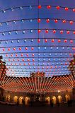 lighted square turin Στοκ φωτογραφίες με δικαίωμα ελεύθερης χρήσης