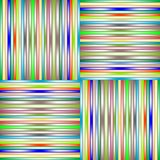 Lighted stripes 3 Stock Image