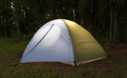 Lighted tent Stock Photos