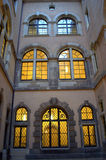 Lighted windows Stock Photography