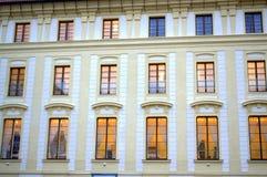 Free Lighted Windows Prague Castle Stock Photography - 48767572